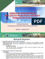 1.3.1. Kebijakan Pendampingan Desa Prioritas Pembangunan