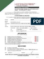 Formulaire d Inscsription Jsfm-cmc 2017