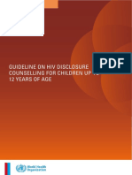 WHO HIV Disclosure Guideline 12