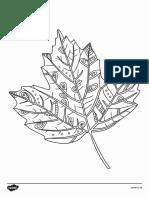 Coloring leaf