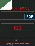 ISS e IPVA Apresentacao