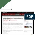 Www.pythian.com News 654 Installing Oracle 11g on Ubuntu Linux 710 Gutsy Gibbon