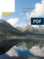 Learning Factories the Nordic Model of Manufacturing