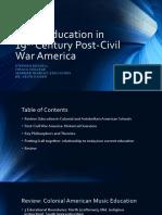 seminar presentation - post civil war america