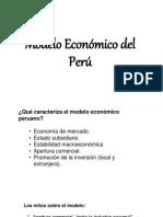 Modelo Económico Del Perú