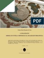 Tese de Mestrado a Legalização - Medida de Tutela e Reposição Da Legalidade Urbanística - Cópia