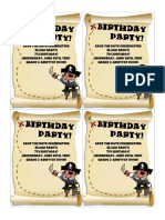 Free Printable Birthday Pirates Invitation.pdf
