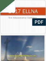 2017 ELLNA TA Guidelines