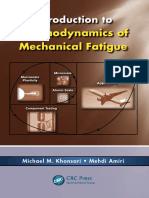 Thermodynamics of Mechanical Fatigue