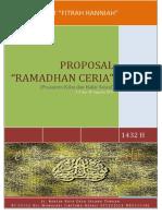 Proposal Ramadhan Ceria