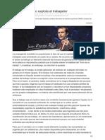(2013-5) El Empresario No Explota Al Trabajador