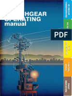 Operating Manual for MV Indoor-Outdoor Switchgears
