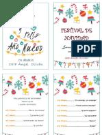 Programa Festival de Navidad 2017