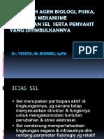 1.6.2.1 - Pengaruh Agen Biologi, Fisika, Kimia Dan Mekanisme Perubahan Sel Serta Penyakit Yang Ditimbulkannya
