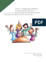 Trabajo Cooperativo e Inteligencias Multiples... Teresa Baron