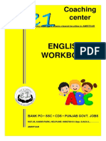 English Workbook for SSC & BANK PO