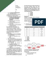 Examen de Project (1) Examen