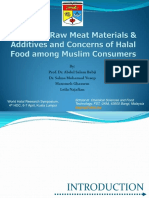 PAPER12-Source of Raw Meat Materials and Additives and Concerns of Halal Food Among Muslim Consumers