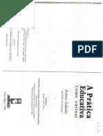 A Pratica Educativa como ensinar - A aprendizagem dos conteúdos segundo a sua tipologia.pdf