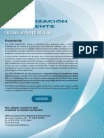 ATEG - Galvanizado Notas Informativas