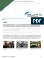 Portal Fetranspor - Mobilidade Com Qualidade - Especial Fetranspor 60 Anos