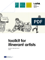 Toolkit for Itinerant Artists  -  Elena Marchevska