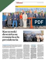 Kuczynski Descarta Su Rnuncia a La Presidencia