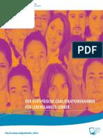 Europäische Qualifikationsrahmen für Lebenslanges Lernen