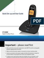 BT 1000 Manual