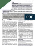 Ijar -Formulation and in -Vitro Evaluation of Orally
