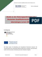 DQR - Studie Zu Den Nutzungspotenzialen des DQR