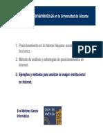 Ejemplos y Mtodos Para Analizar La Imagen Institucional en Internet 0