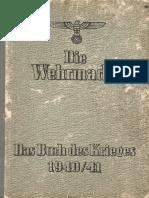 Die Wehrmacht - Das Buch Des Krieges 1940-41