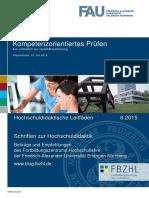 FAU Nürnberg - Leitfaden Kompetenzorientiertes Prüfen