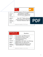 FH Bielefeld - Kompetentes Prüfen (Mit Besprechung Der Prüfungsformen)