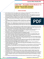 Current Affairs Weekly Pocket PDF 2017 - December(1-7)by AffairsCloud