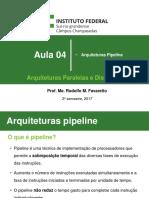 Arquiteturas paralelas - aula 4