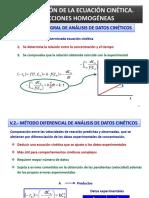 Ecuaciones cineticas