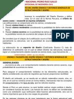 Unidad I-II-III - Filosofia Del Diseño Sismico-criterios Estruct y Diseño-requisitos Analisis y Diseño