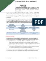 Antiinflamatorios No Esteroideos Resumen