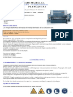 Fichas de Riesgos Diversas Maquinas