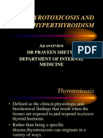 Thyrotoxicosis and Hiperthyroidism
