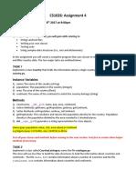 CS 1026 Assignment 4