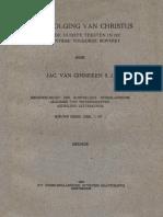 De Navolging Van Christus Thomas a Kempis (scanned edition)