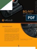 BG-N11 for Nikon D7100 y D7200