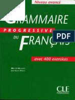 Grammaire Progressive de Francais Avance
