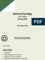 Gen_GEO1305C_SP 16 # 5 Minerals