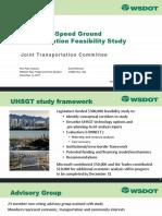WSDOT - Ultra High Speed Rail