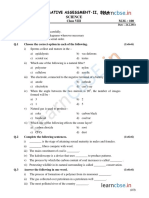 Cbse Class 8 Science Sample Paper Sa2 2014
