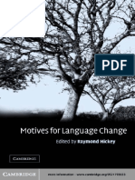HICKEY, R.  (2003) Motives for Language Change
